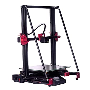 3Dプリンター、3D印刷機、AC115-240V350W、高精度3Dプリンター、3Dプリンター押出機、0.2-0.8mmノズル、300x300x400mm、厚底印刷:0.1-0.4mm、印刷精度:±0.1mm(110-240V)