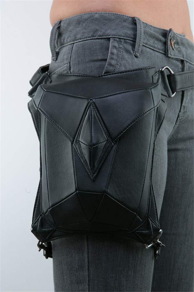 Leather Waist Packs Bag Leg Bag Gothic Unisex Steampunk Punk Handbag Vintage Waist Bag Shoulder Bag Steampunk Bag Leather