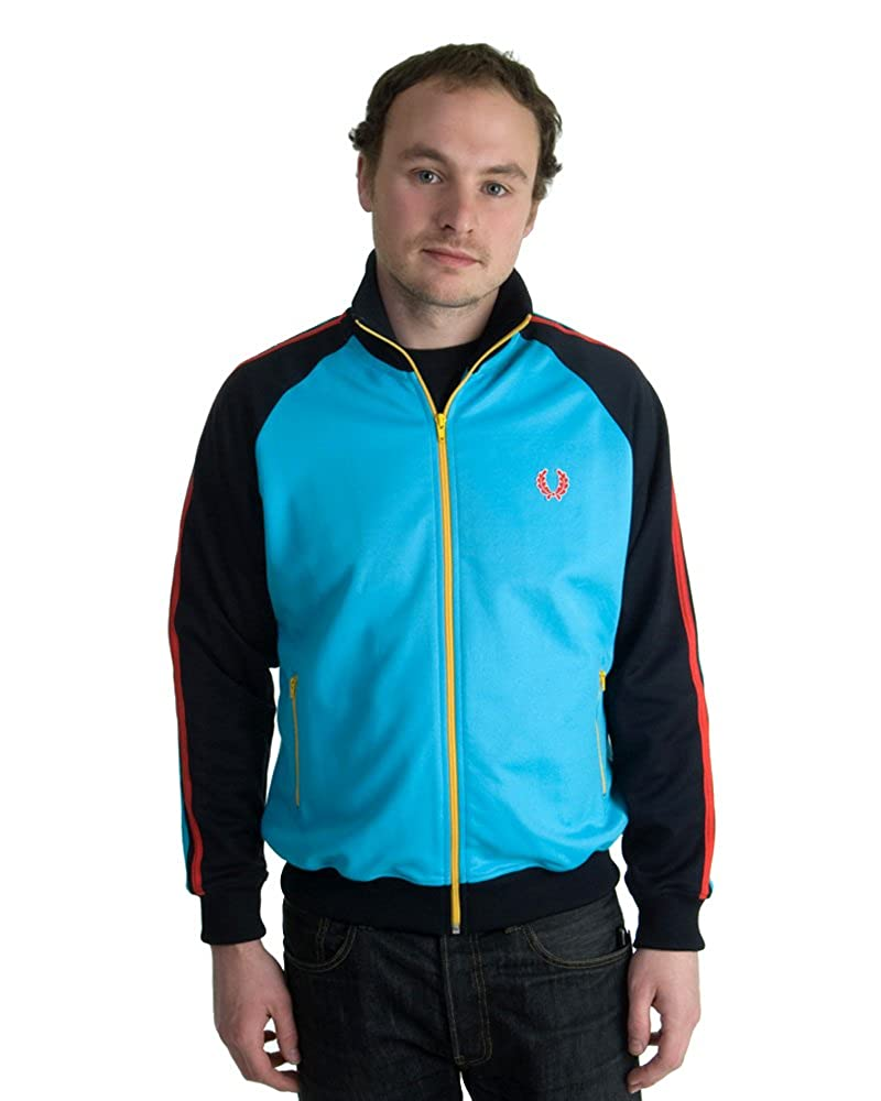 speical-erbjudande bästa skor beställa online Fred Perry Twin Tape Color Block Men's Track Jacket (Large, Navy ...