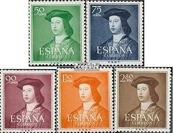 Prophila Collection España Michel.-No..: 1003-1007 (Completa ...