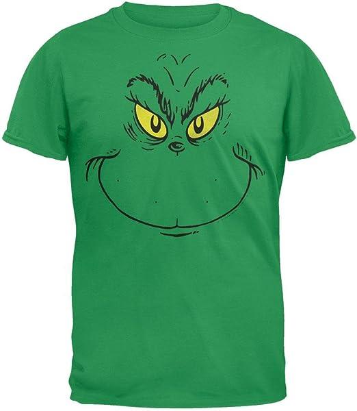 Dr Seuss Grinchin Face Sweatshirt