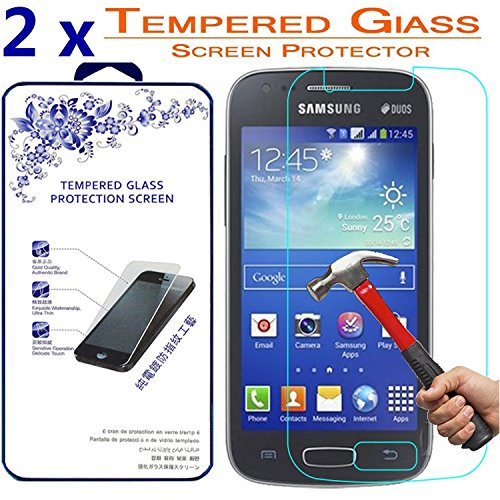2x Glass For Samsung Galaxy Ace 3 S7270 S7272, Premium Tempered Glass Screen Protector ([2 Pack] For Samsung Galaxy Ace 3 S7270 S7272)