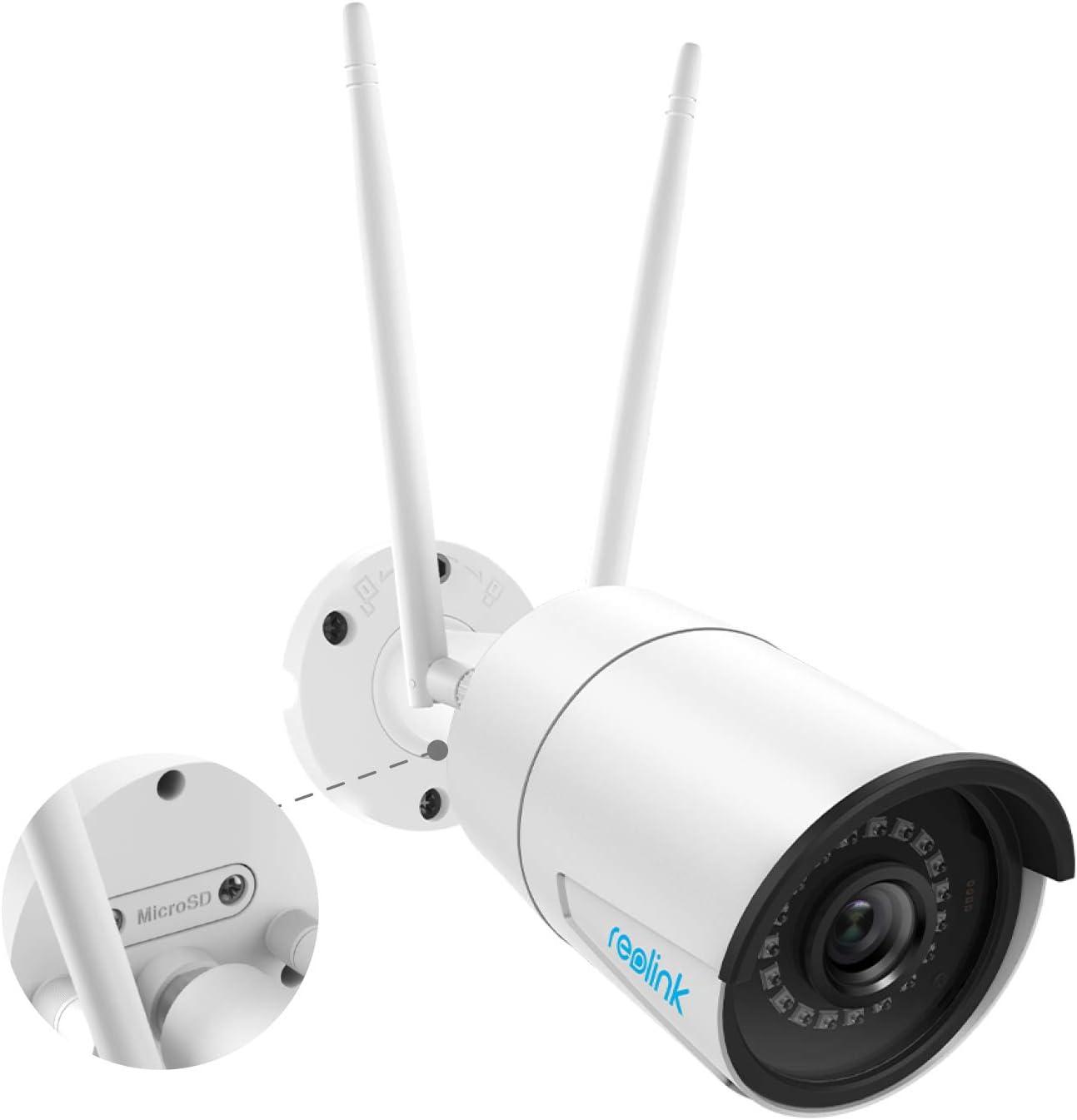 Reolink 4MP Super HD 2.4GHz ou 5GHz Caméra Surveillance WiFi Extérieur IR...