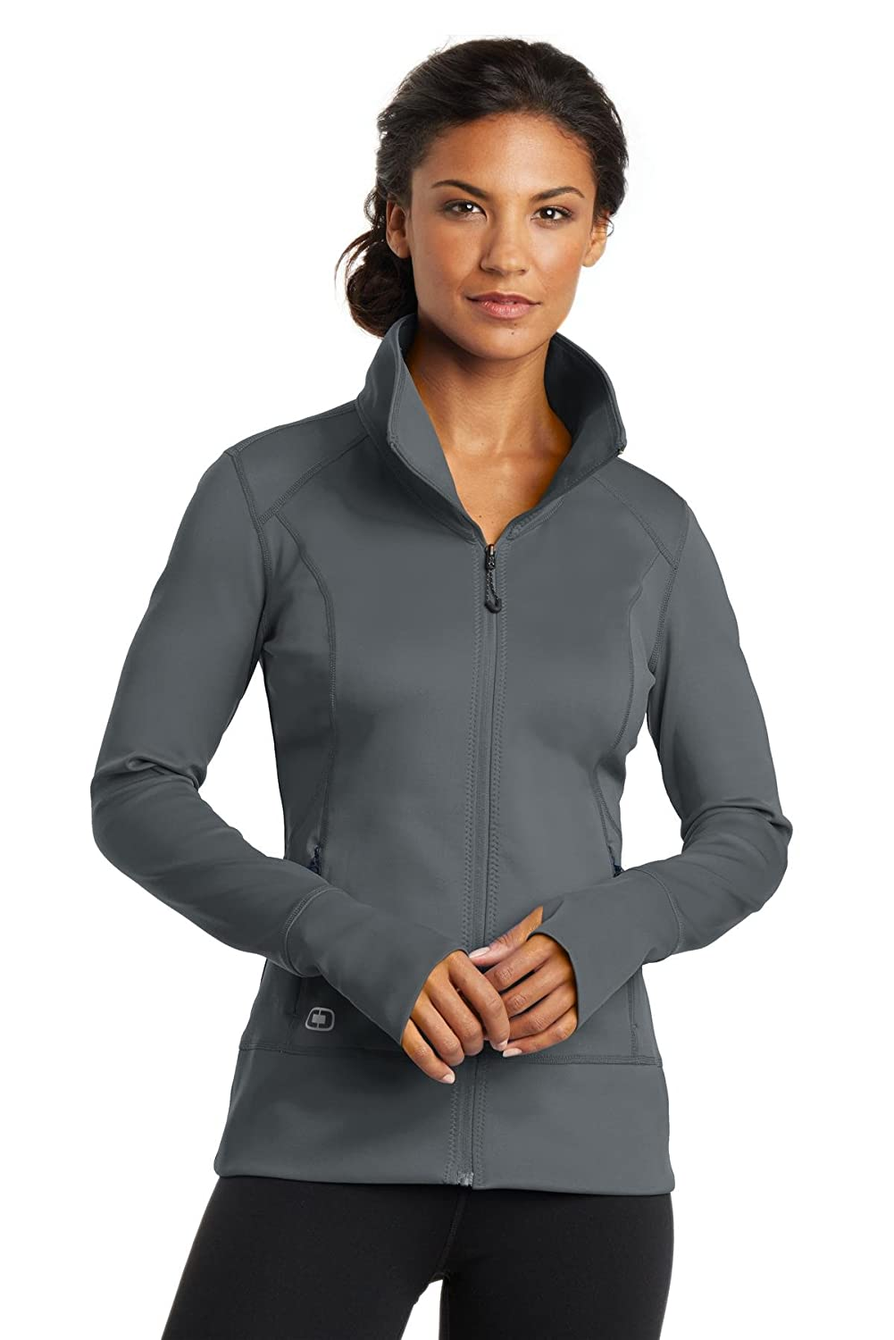 Gear Grey Ogio ENDURANCE  Ladies Fulcrum FullZip
