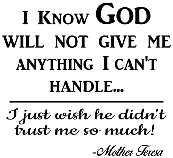 Amazoncom Mother Teresa Quotes Wall Art Decals Are A Great Way To