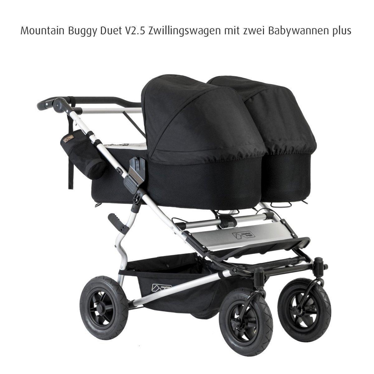 Mountain Buggy Carrycot Plus f/ür Duet Blue