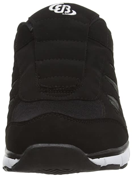 Bruetting Spiridon Fit 591019 - Zapatillas de fitness de nailon para hombre, color negro, talla 44
