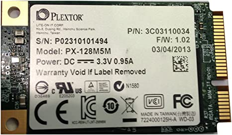 Plextor PX-128M5M - Disco Duro sólido Interno SSD (128 GB): Amazon ...