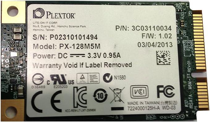 Plextor PX-128M5M - Disco Duro sólido Interno SSD (128 GB): Amazon ...