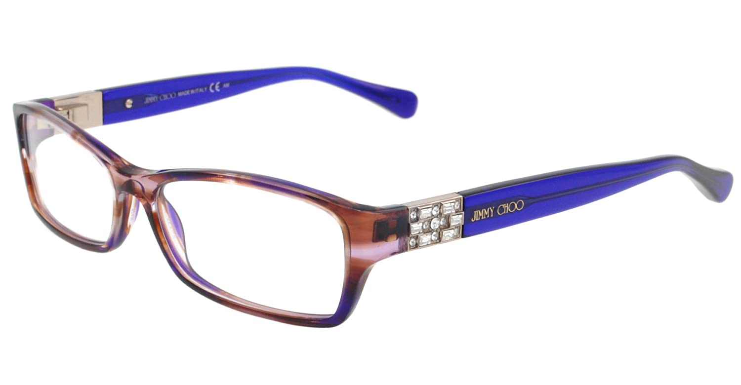 278a6a35fe0 Amazon.com  Jimmy Choo Eyeglasses JC 41 BLUE ECW JC41  Jimmy Choo  Clothing