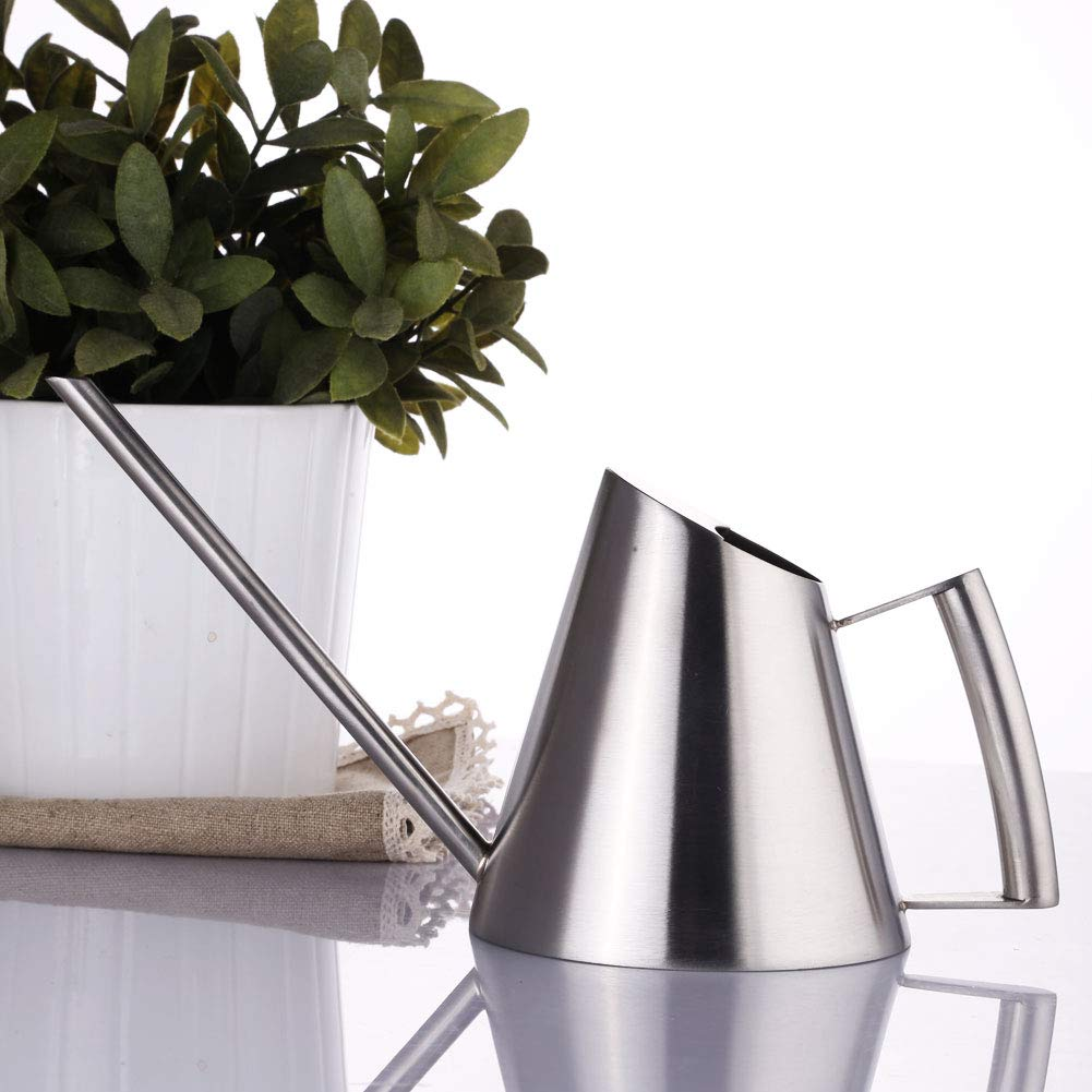 E.Palace Mini Stainless Steel Water Can for Indoor Plants Best for Kids and Office (13 oz)