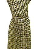 Ermenegildo Zegna Men's Gold Polla Dot Silk Neck Tie