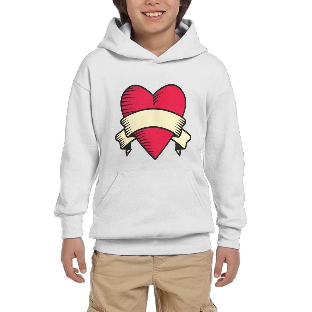 Quliuwuda Teen Boys Love Decoration Fashion Climbing Black Hoodie