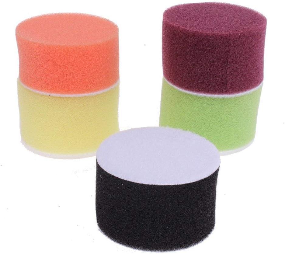 1 Pouce JOMSK Support de Tampon de Disque de pon/çage Plateau de Couple en Caoutchouc Support de Tampon de Rotation Support de Tampon de Rotation Adaptateur de Changement Rapide