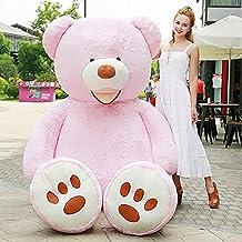 YXCSELL 51 Inches/130cm Pink Beak Bear Stuffed Large Big Foot Cuddly Teddy Bear For Birthday Gift