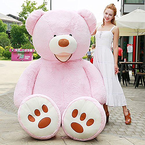 YXCSELL Giant Teddy Bear Softly Plush With Big Footprints Animal Toys Valentine's Day Birthday Thankgiving Day Christmas Presents Gifts 63