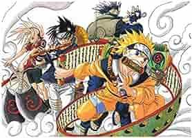 Fabulous Poster Cartel Naruto Sasuke Kakashi Ninja Técnica ...