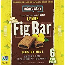 Nature's Bakery Whole Wheat Fig Bars - Lemon 2oz. - 6ct twin packs by Nature's Bakery