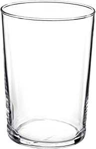 Bormioli Rocco Bodega Collection Glassware – Set Of 12 Maxi 17 Ounce Drinking Glasses For Water, Beverages & Cocktails – 17oz Clear Tempered Glass Tumblers