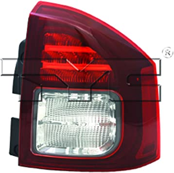 TYC 11-5701-01-1 Dodge Right Replacement Tail Lamp
