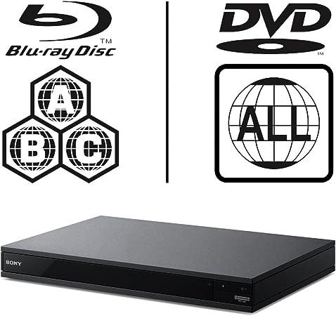 Sony Ubp X800 Uhd Blu Ray Player Multiregion Blu Ray Elektronik