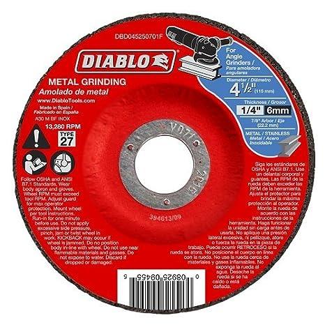 Amazon.com: Diablo 4 – 1/2in. Metal DC Gr: Home Improvement