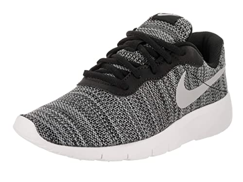 a71ae17365d8 Image Unavailable. Image not available for. Color  NIKE Kids Tanjun (GS)  Black Wolf Grey White Running Shoe 5 Kids