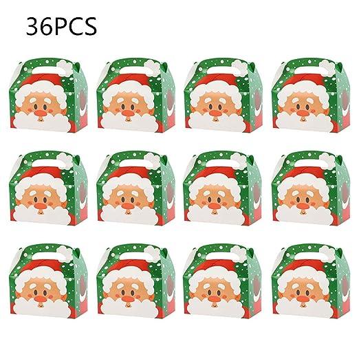 JYCRA Cajas, 36 Cajas Decorativas para Dulces, Tartas ...