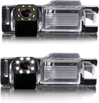 HD CCD Marcha Atr/ás Color Aparcamiento C/ámara Visi/ón Nocturna Sistema de Ayuda aparcar Resistente al Agua /& antigolpes para Alfa Romeo//Astra//Chevrolet Opel Insignia Tourer//Fiat Grande Punto//doblo