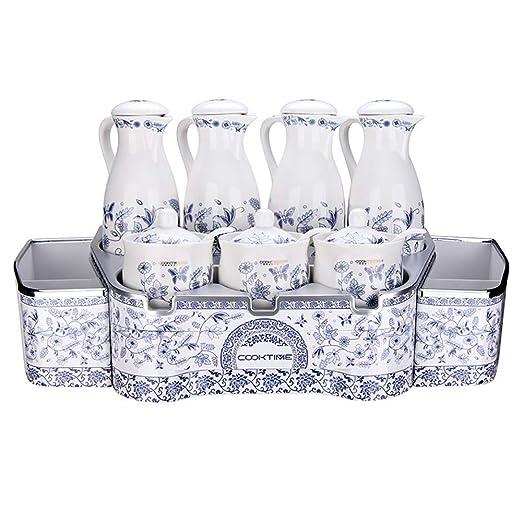 NewbieBoom Rejilla de Cocina/Caja de condimentos/hogar/combinación ...