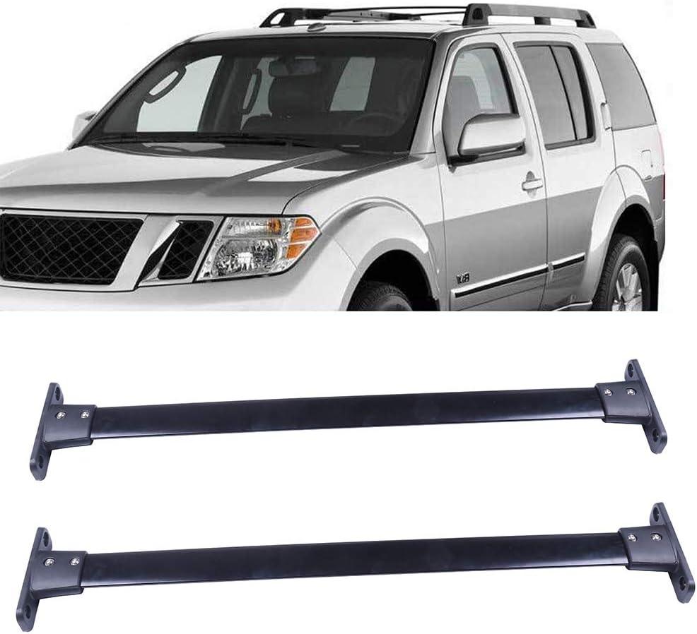 OCPTY Roof Rack Cross Bar Cargo Carrier Fit for 2005-2012 Nissan Pathfinder Sport Utility Roof Rack Crossbars
