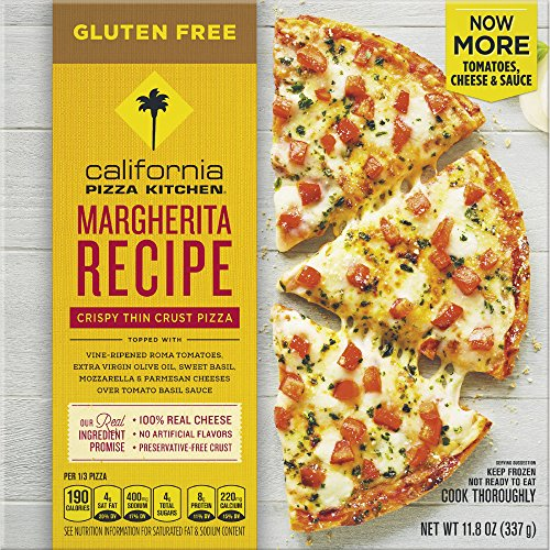 CALIFORNIA PIZZA KITCHEN Gluten Free Margherita Frozen Pizza 11.8 oz ...