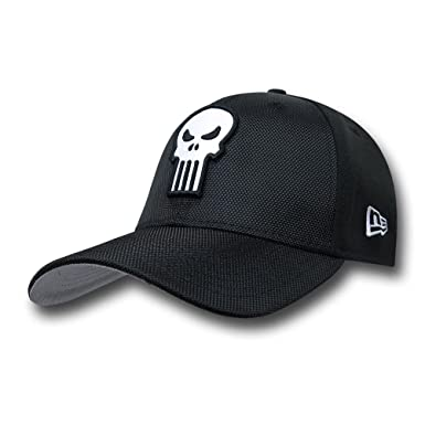 Amazon.com  Punisher Skull Logo Symbol 3930 New Era Hat  Clothing 0faf1a6fa6b