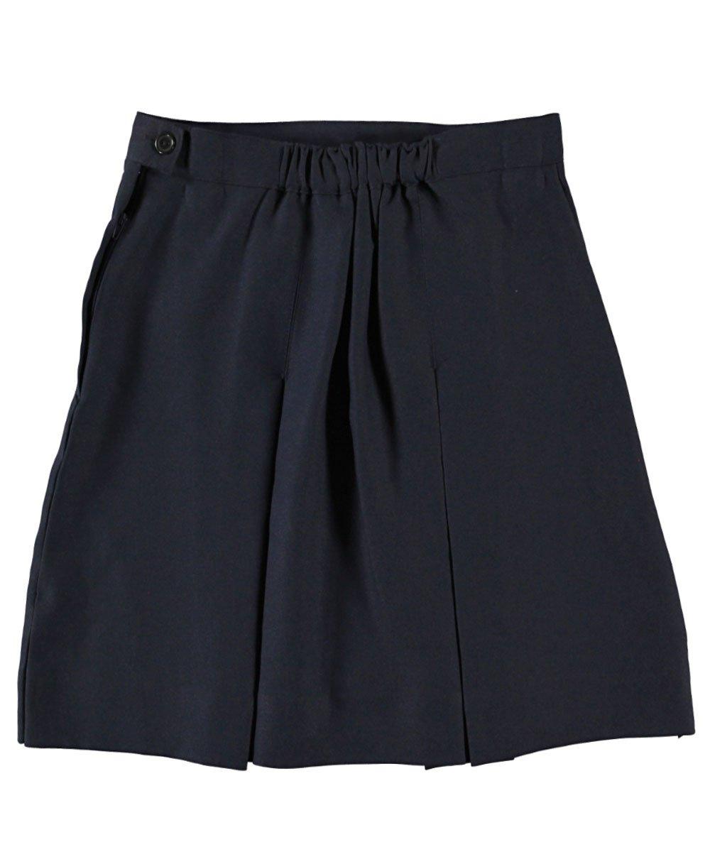 Cookie's Brand Big Girls' Box Pleat Skirt - navy, 14