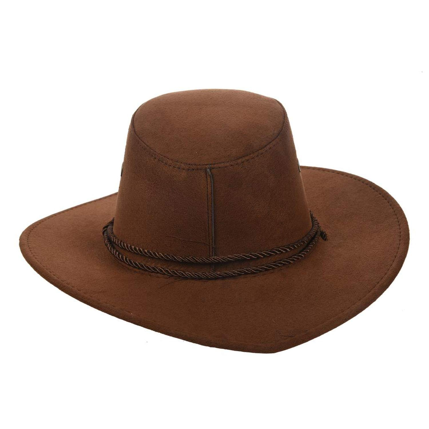 CHENTAI New Cowboy Cap Suede West Fancy Cowgirl Unisex Hat