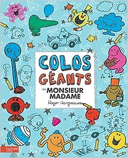Colos Geants Des Monsieur Madame Amazon Fr Roger