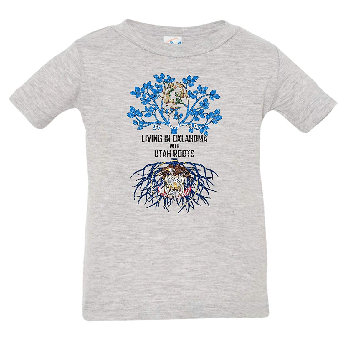 Tenacitee Babys Living in Oklahoma Utah Roots Shirt