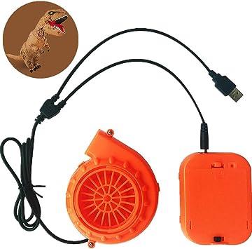 Amazon.com: WJA Mini ventilador de soplador para disfraz de ...