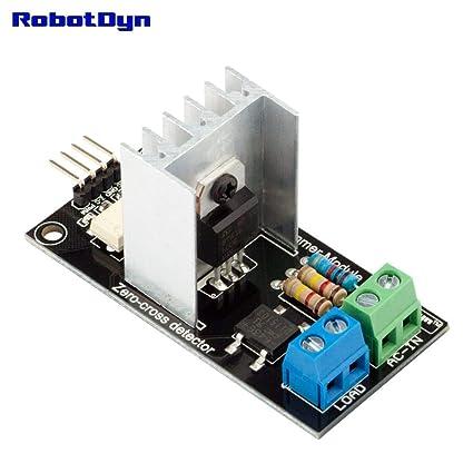 Amazon Com Robotdyn Ac Light Dimmer Controller Module For Arduino