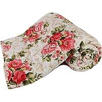 Adore u Microfibre Reversible Double Bed Comforter Dohar (King Size, Multicolour)