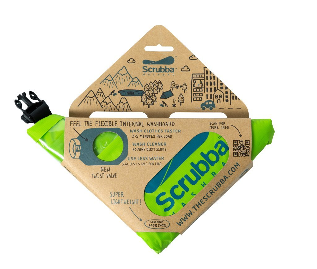 The Scrubba Wash Bag travel product recommended by Natalie Simpson on Lifney.