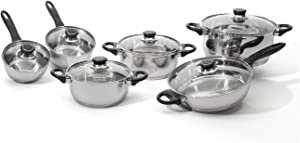 Berghoff Ostend 12-Piece Stainless Steel Cookware Set