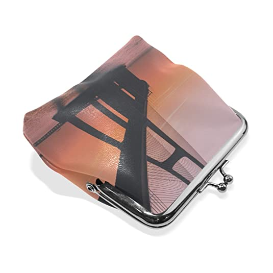 Amazon.com: Rh Studio - Monedero con diseño de puente de mar ...