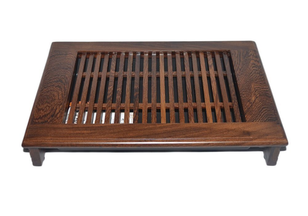 Yeme Chinese Bamboo Tea Table Serving Tray 9.45