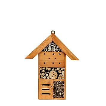 Caja nido Insectos L Refugio para insectos Abejas Hotel Madera ladrillo Madera