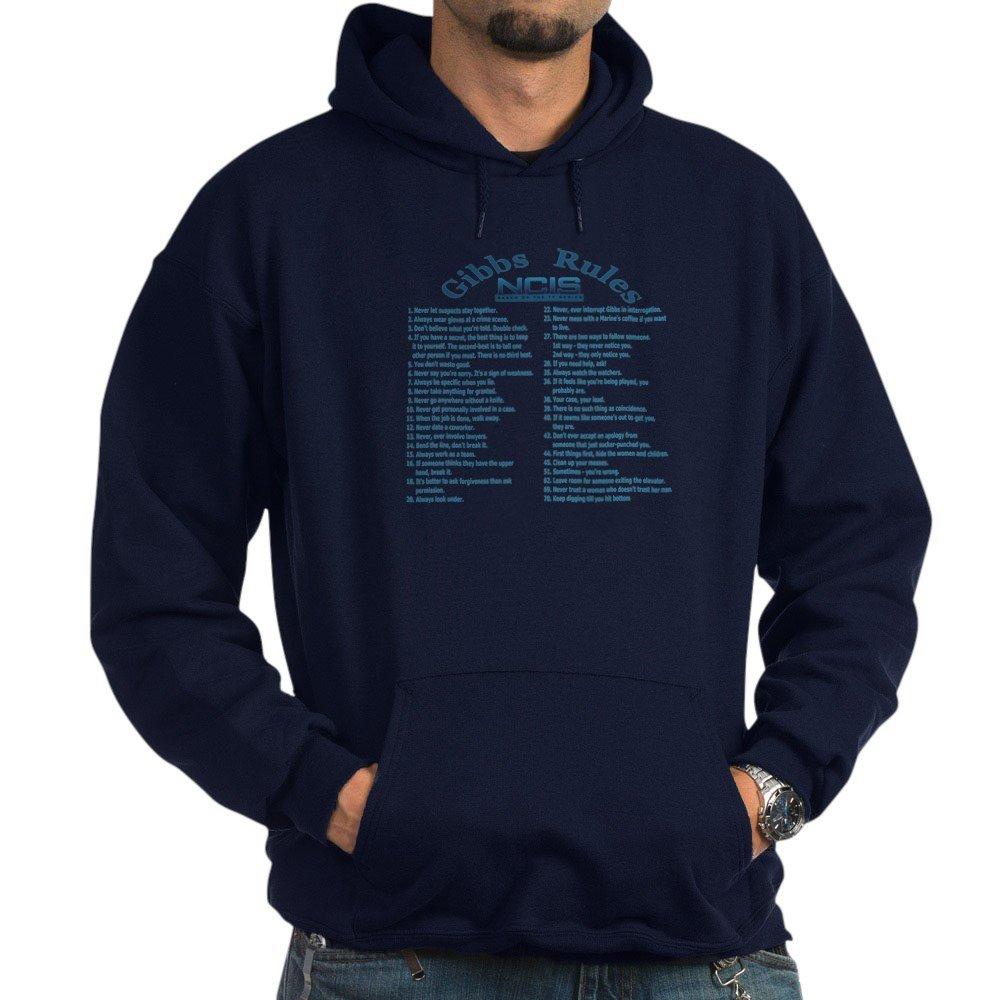 CafePress - NCIS Gibbs Rules - Hooded Sweatshirt