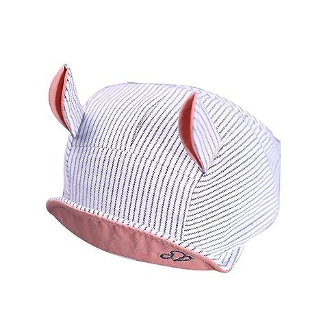 ZHOUBA - Gorra de béisbol para bebé, niños, gato transpirable ...
