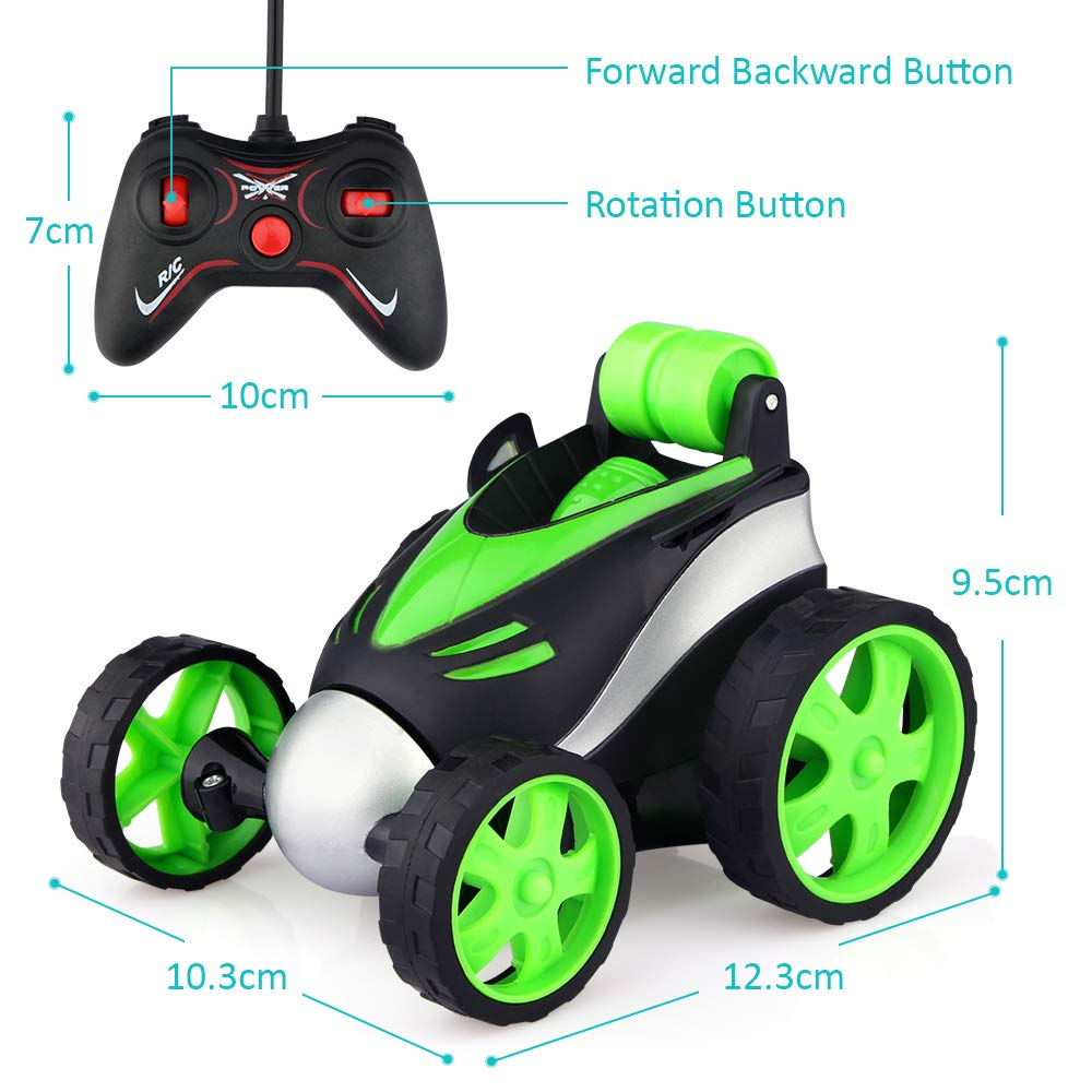Epoch Air Remote Control Car Kids Toys RC Car with 360/° Rotation Mini Stunt Car Racing Motorcycle Vehicle Gifts for Boys Girls Toddlers Indoor Outdoor Garden Games