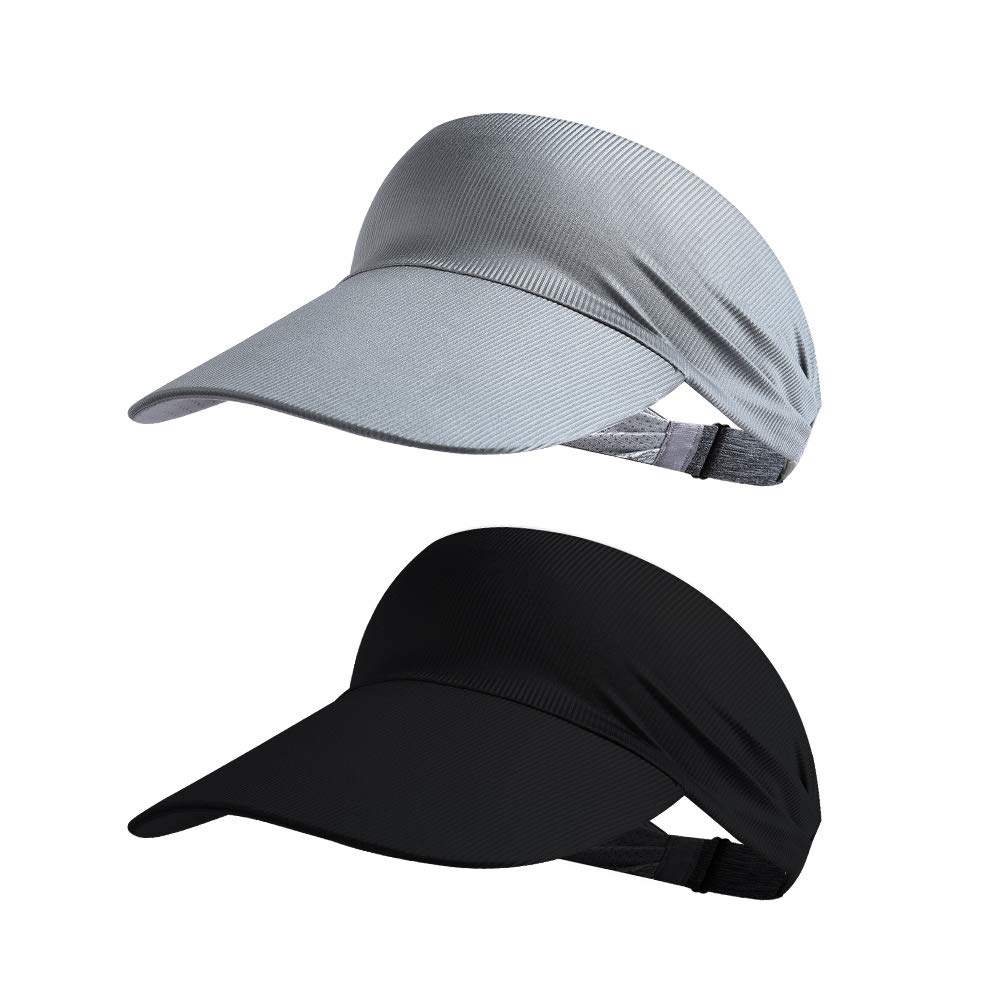Sun Visor Hat Golf Visor Hat Sun Hat Foldable Anti-Slip Adjustable for Men Women