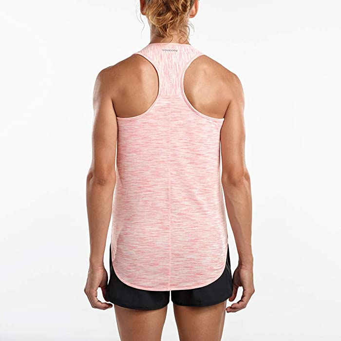 125f5857 Amazon.com: Saucony Gait Tank Women M Salmon Rose: Clothing